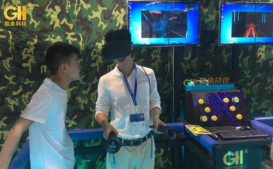 2018GTI广州展大受欢迎的室内VR体验馆产品9DVR设备居然是它!