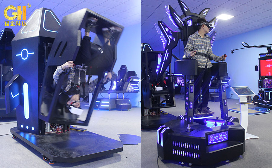 猎金VR体验馆源头厂家全新蓝魅系列VR产品新品上市