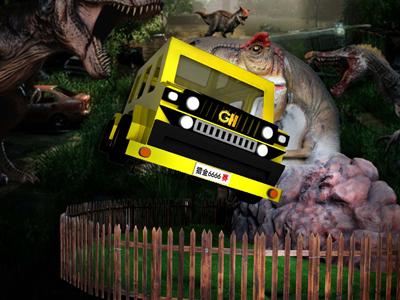 侏罗纪探险VR恐龙公园带你重返侏罗纪与恐龙来个亲密接触