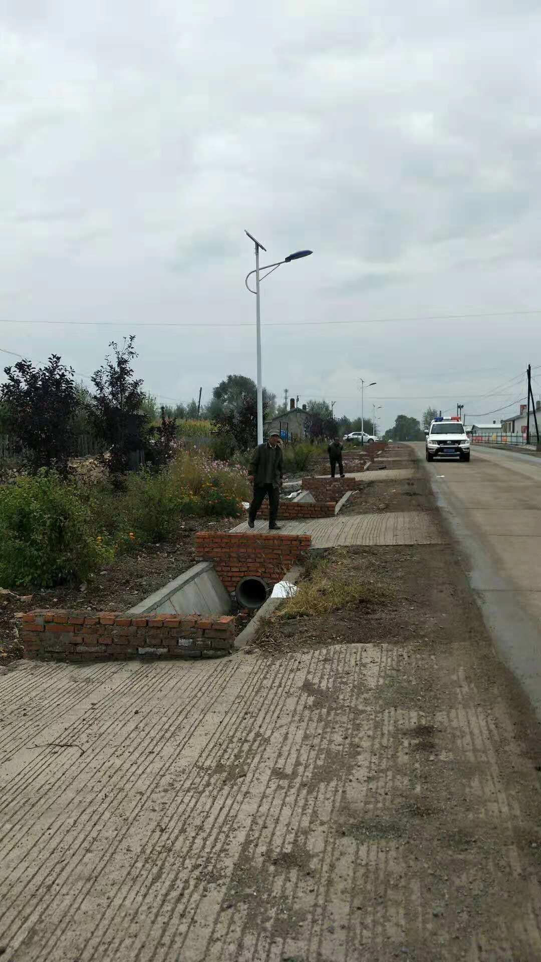 吉林省榆樹市太陽能路燈項目