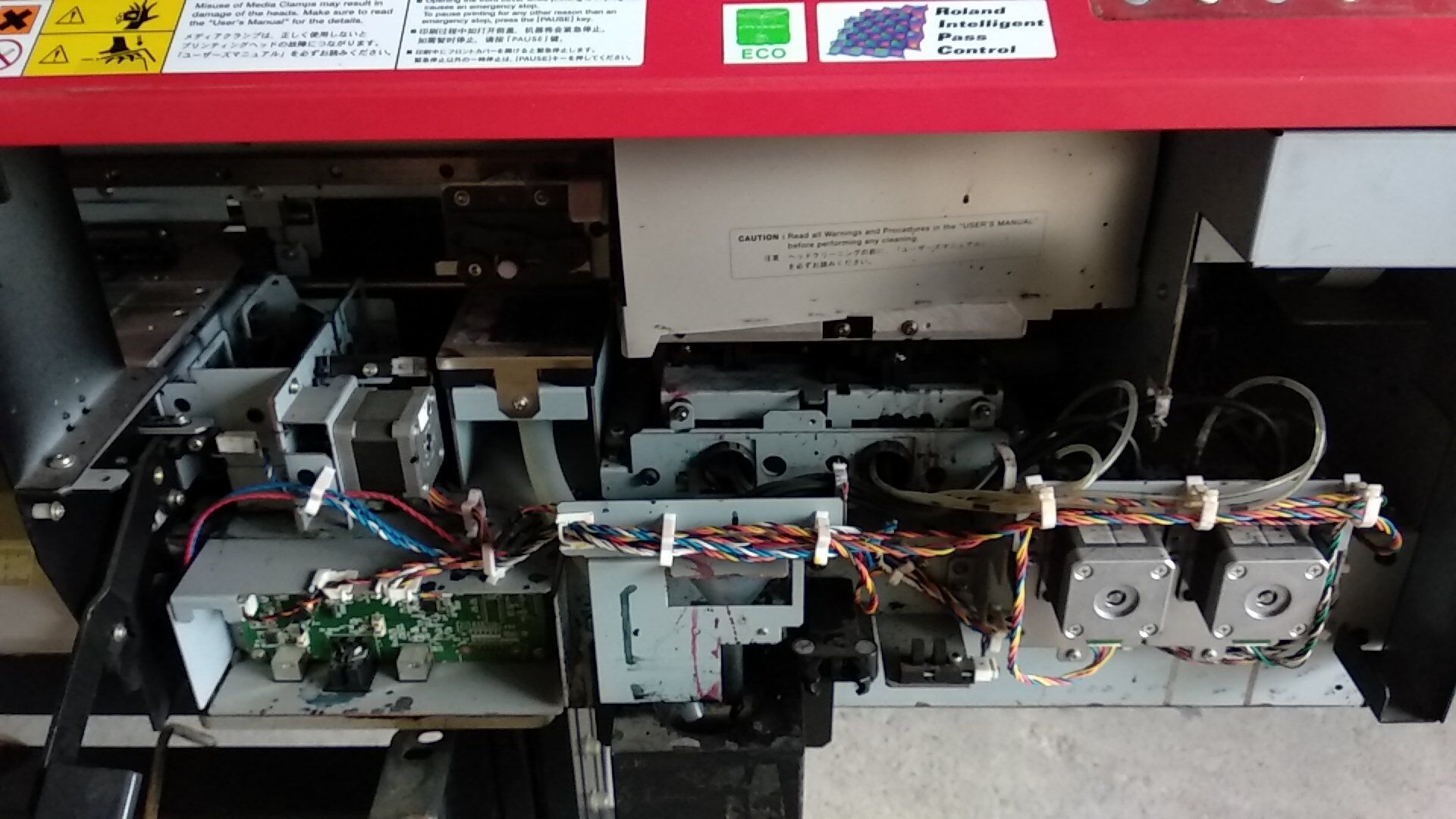 Picture of Second hand Used Roland XF-640 inkjet printer