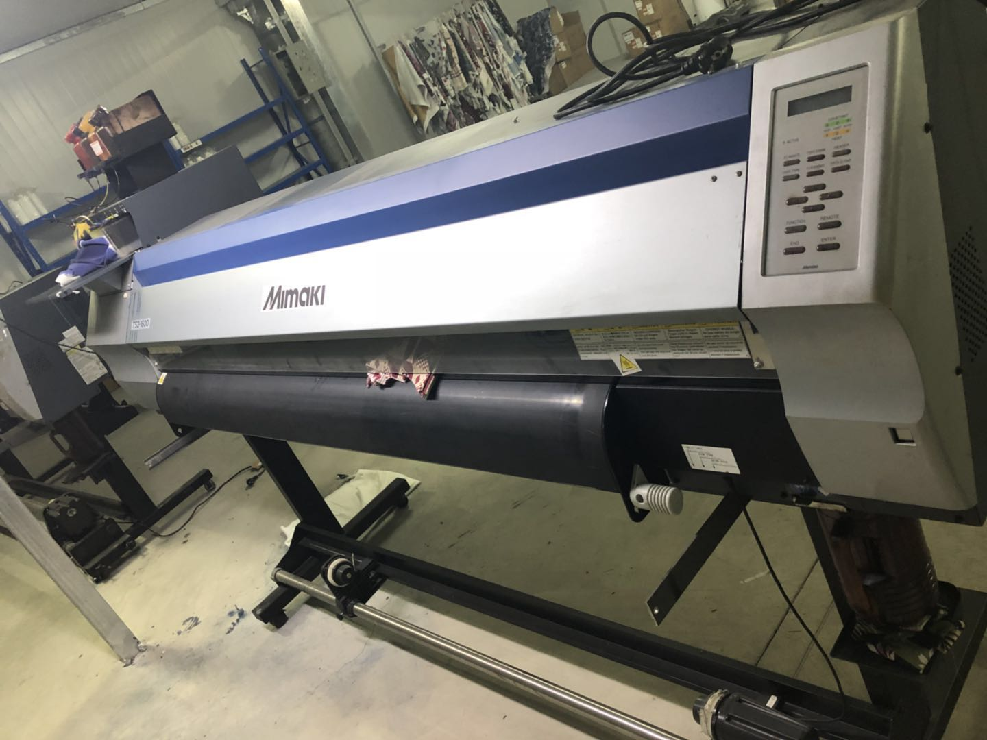 Picture of Second hand--Mimaki TS3-1600 Dye Sublimation Printer