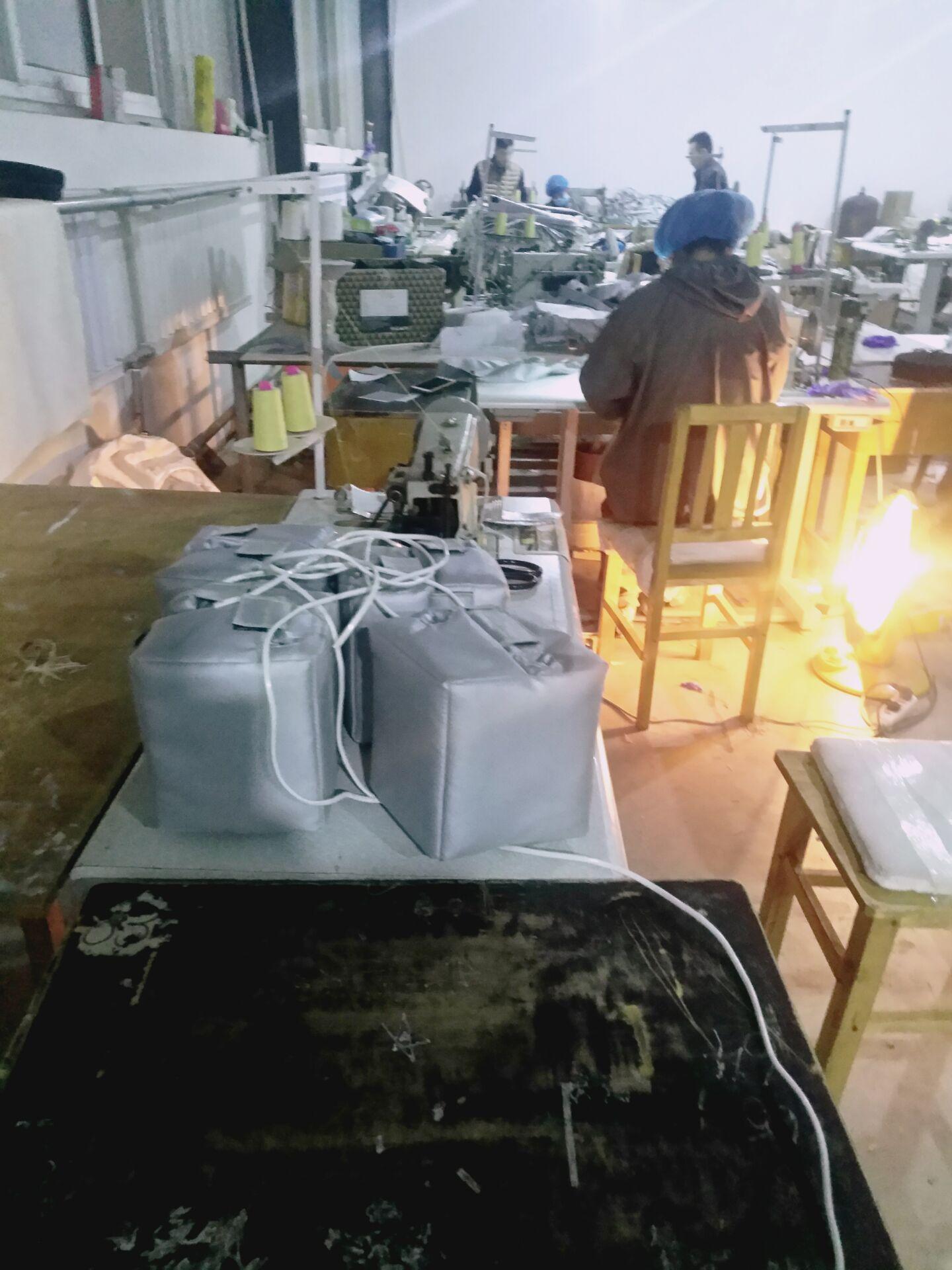低压电24v电加热保温套,零下50度电加热保温衣