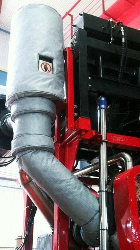 可拆卸式保温套电加热保温套性价比高产品特性