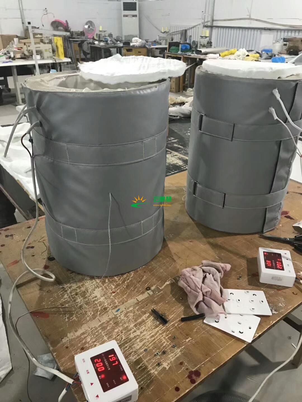 防爆防火保温罩,电加热防火保温套,柔性电加热保温罩