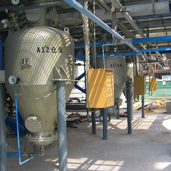 上引式仓泵