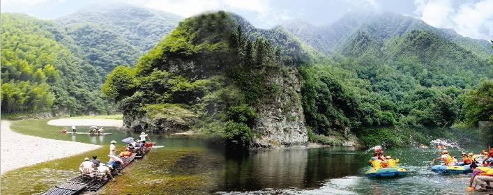 泾县月亮湾风景区,国家级3a旅游景点