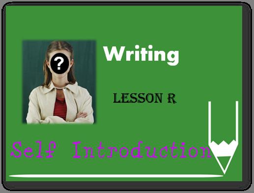 初级写作Initial Writing