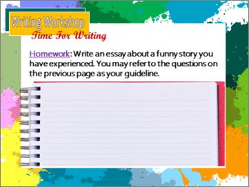 中级写作Intermediate Writing