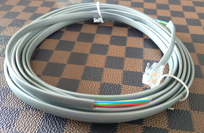 Picture of 6CORES 26AWG SLIVERY GREY TELEPHONE CABLE