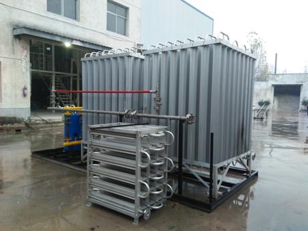 煤改气点供LNG气化撬/LNG气化调压计量撬/ 卸车增压撬/专业生产