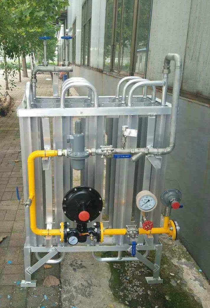 杜瓦瓶LNG撬,LNG气化调压撬,气化撬