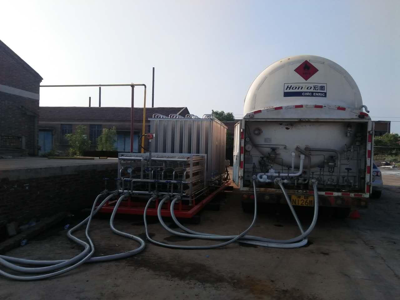 lng减压撬 撬装式天然气装置 气化调压撬 天然气调压箱