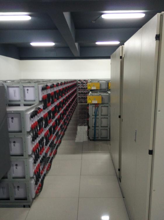 内蒙古某研究所科华UPS电源配套圣阳蓄电池