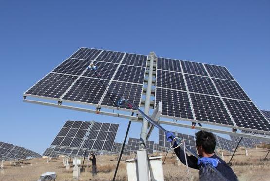 5KW太阳能家用并网发电站