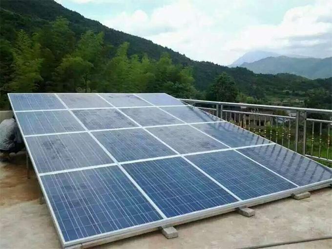 5kw离网太阳能发电系统