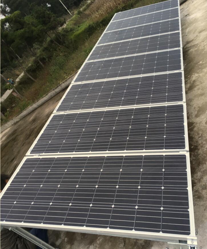 2kw离网太阳能发电系统