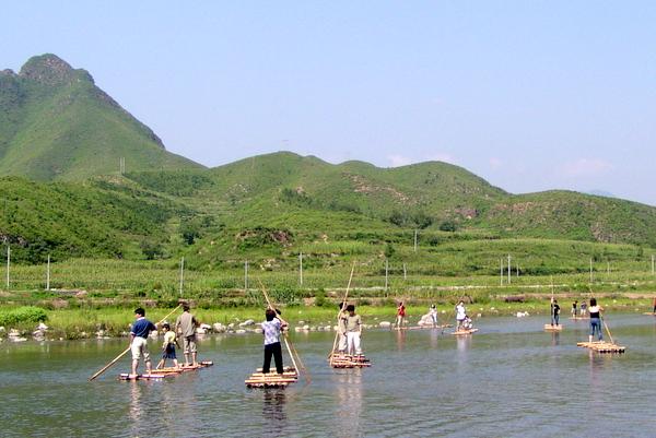 野三坡(北京房山世界地质公园八大园区之一,位于河北涞水)