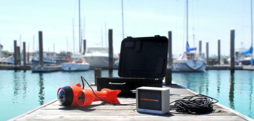 HydroView微型水下机器人