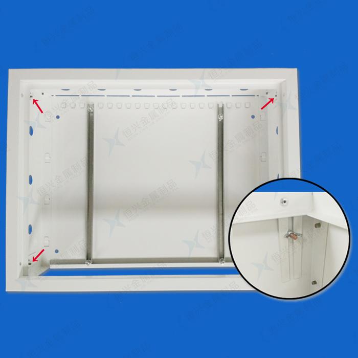 分水器箱丨地暖箱丨分集水器箱丨地暖配件丨遮挡箱丨拆装式丨恒兴 800*450*150mm