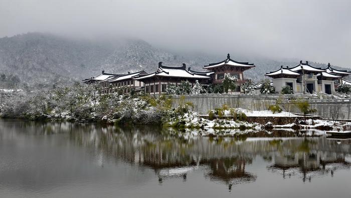 雪后弘愿寺