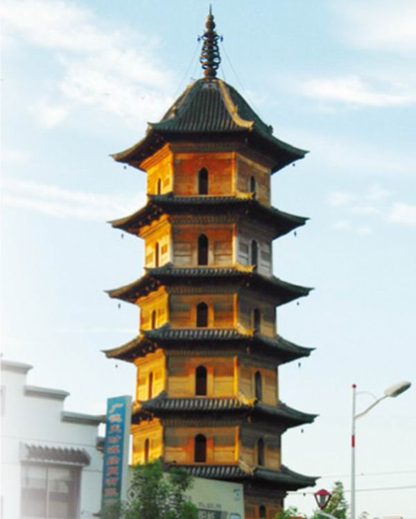 北宋天寿寺塔