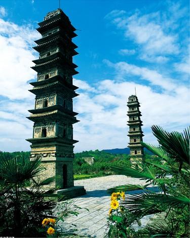 广教寺双塔