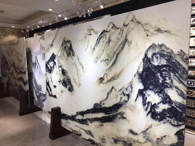 淮安 山水画石材大板