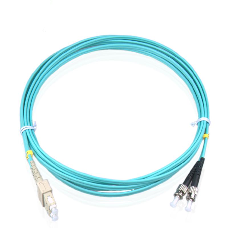 电信级OM3系列光纤跳线SC/UPC-ST/UPC多模万兆光纤跳线