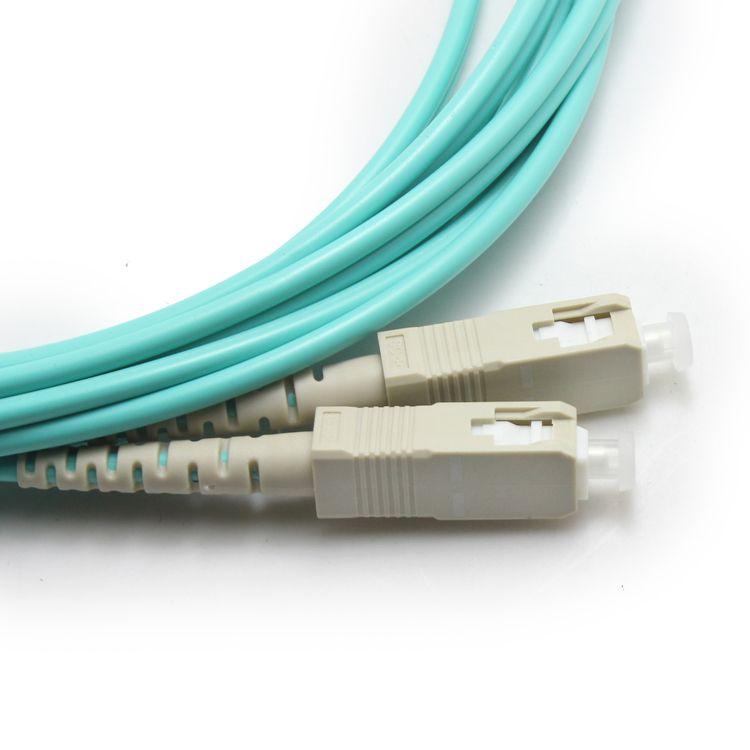 电信级OM3系列光纤跳线SC/UPC-FC/UPC多模万兆光纤跳线
