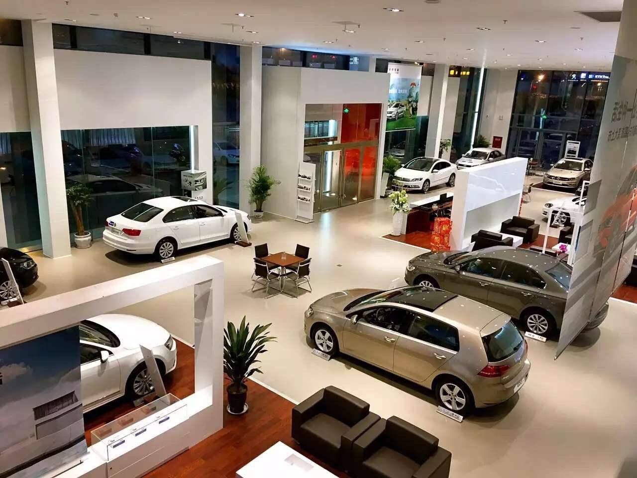 北海市一汽大众汽车展厅
