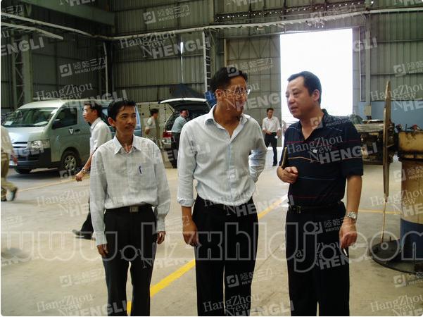 公司鲍总越南考察合作