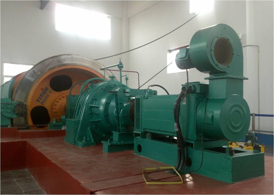 山东泰鼎集团生产的矿井提升机配套使用我司YJP新产品