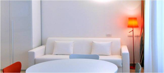 希腊酒店项目客厅