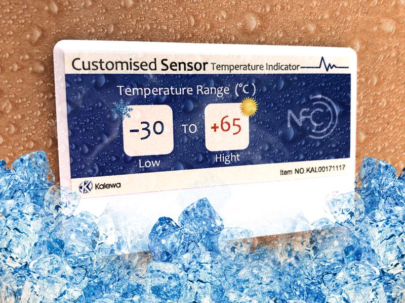 凯利华智能NFC超薄温感标签