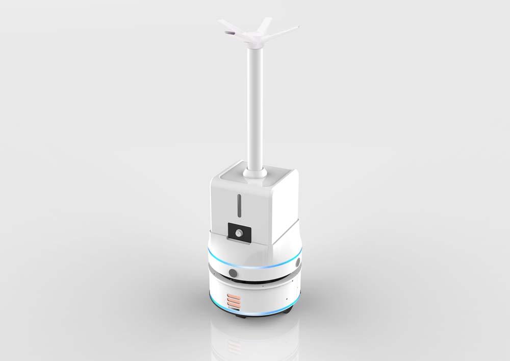 智能喷雾消毒机器人