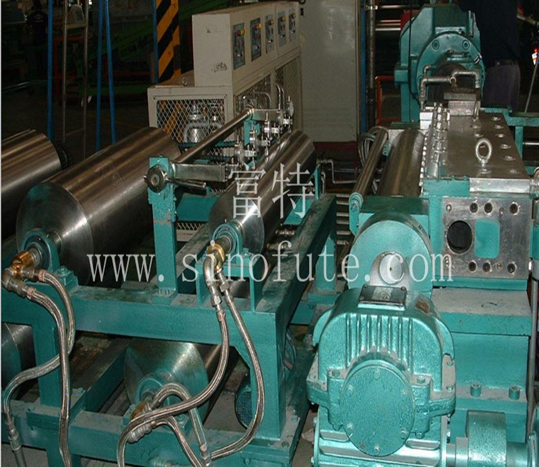 橡胶防水卷材挤出法连续硫化生产线