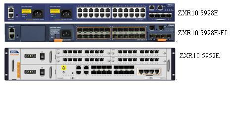 ZXR10 5900E 系列全千兆智能路由交换机