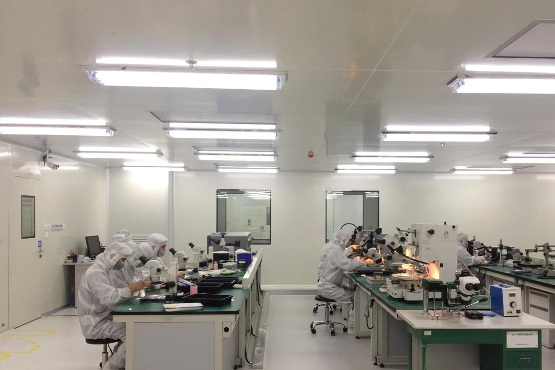 3、晶圆封装生产线