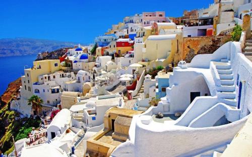 希腊漂亮风光