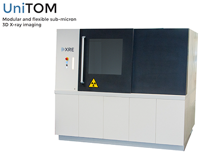 XRE UniTOM 通用型500nm分辨率X射线显微镜/CT