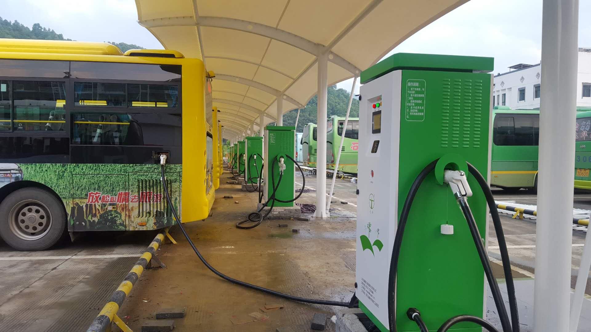 安徽池州公交公司充电站