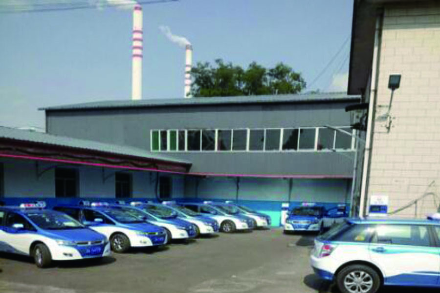 山西太原第二热电厂充电站