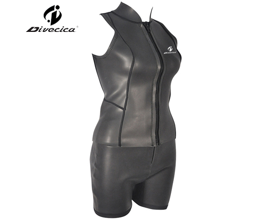 SS-6011 WOMEN GLIDE SKIN MATERIAL SURF SUIT
