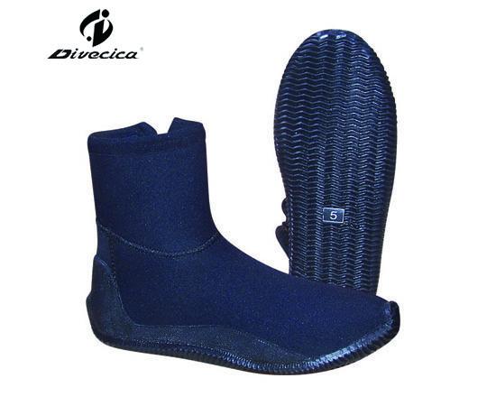 VB-6014 PURPLISH BLUE DIVING BOOTS
