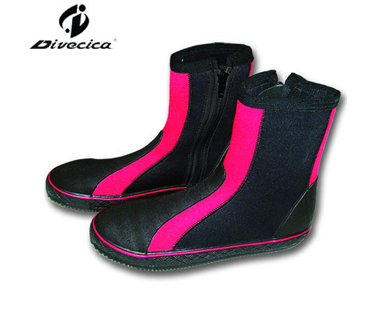 VB-6020 RED&BLACK DIVING BOOTS