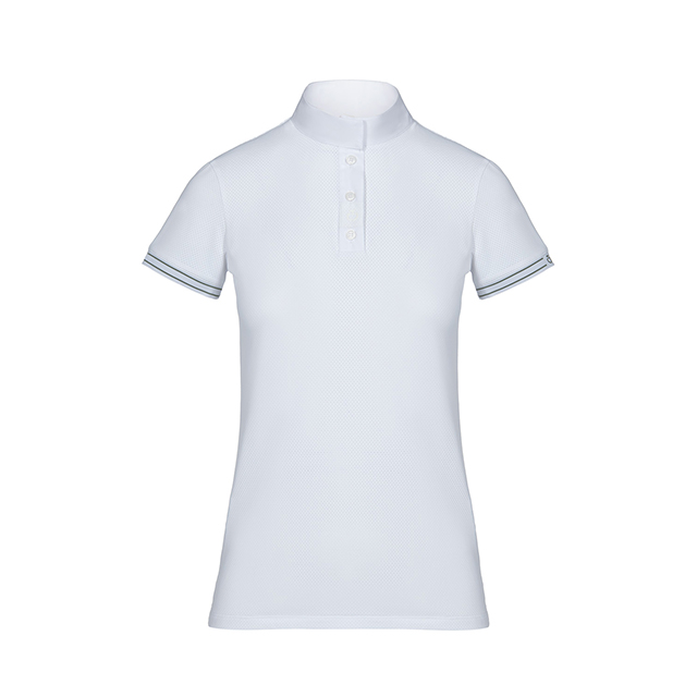 CT 女士训练/比赛短袖 Tech Mesh RibKnit S/S Competition Polo