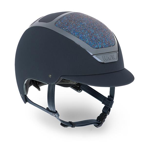 KASK 水晶头盔 DOGMA CHROME LIGHT Navy - Navy SWAROVSKI Midnight