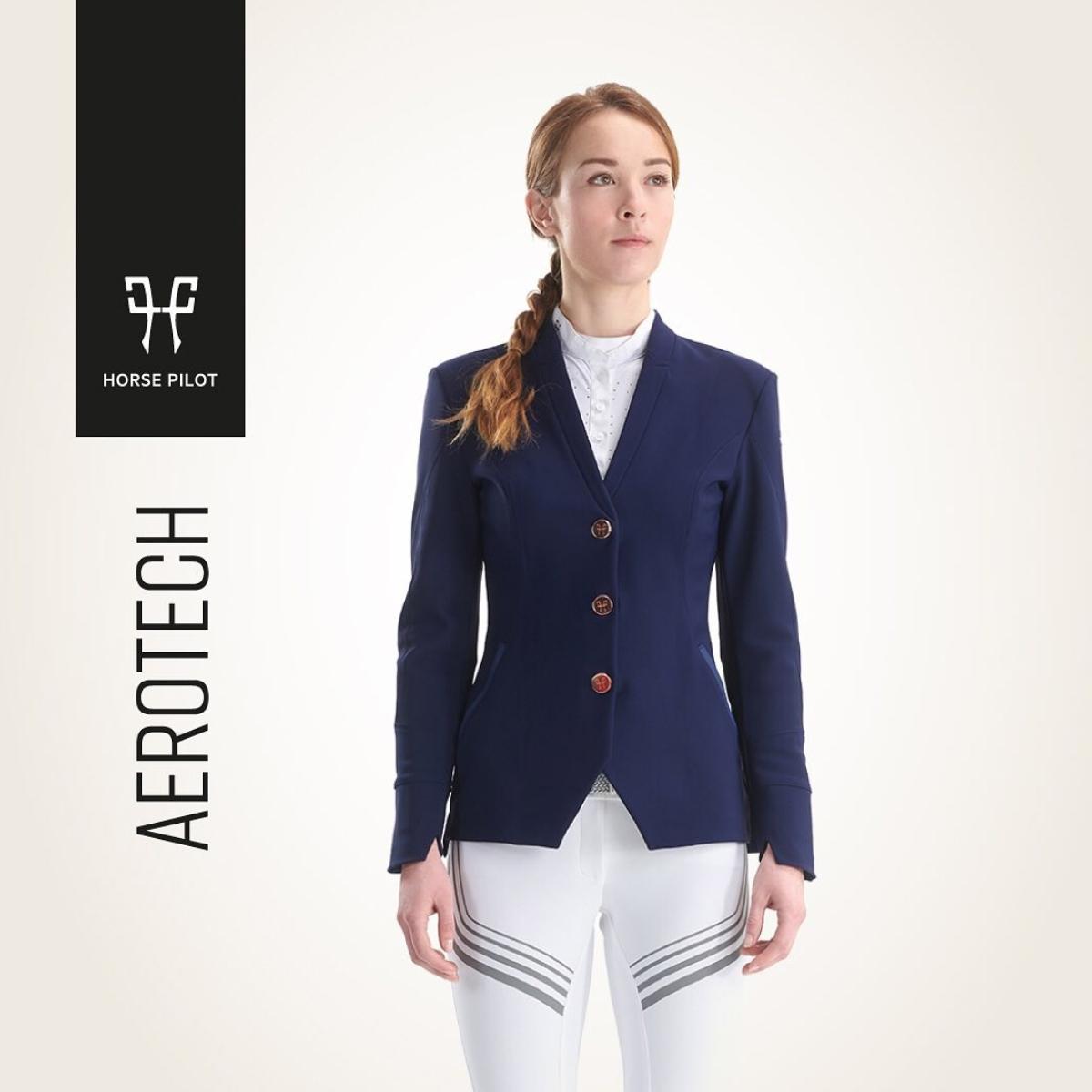 法国 HORSE PILOT 女士马术骑马比赛骑士服Aerotech Jacket Women