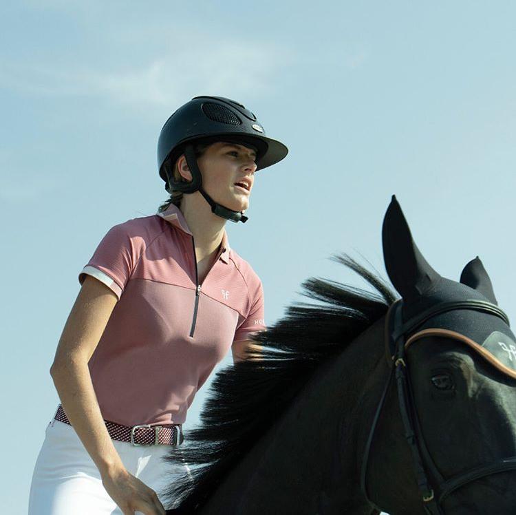 法国HORSE PILOT 女士骑马训练短袖 Ariia Polo Women